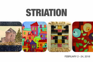 Striation Exhibit: Selected Works by Kathy Nazar and Annie Simcoe @ The Art Space
