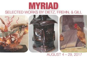 Opening Reception for Myriad Exhibit @ The Art Space