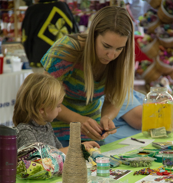 Create Your Own Fiber Craft at Art Walk Huntingdon @ The Art Space